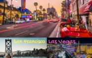 SAN FRANCISCO - LAS VEGAS - LOS ANGELES